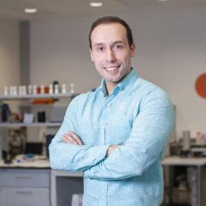 Marcos Sánchez, investigador principal de Polímeros y coatings de CETIM.
